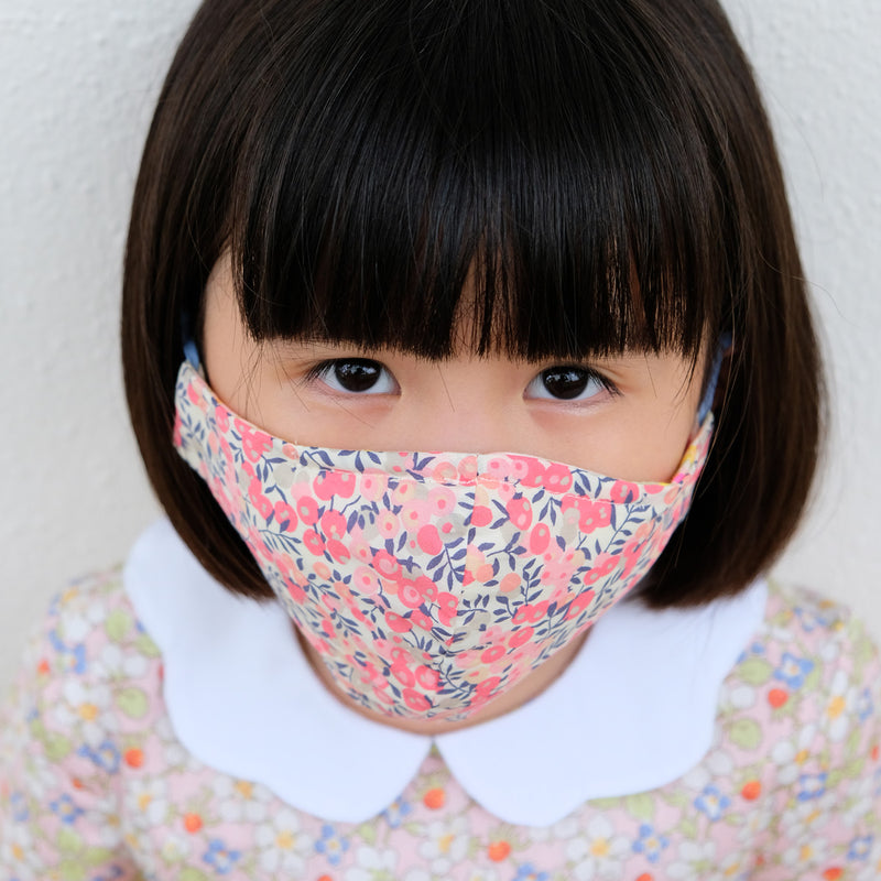Child Liberty Print Face Mask [ 3 Ply ] 8-12-20