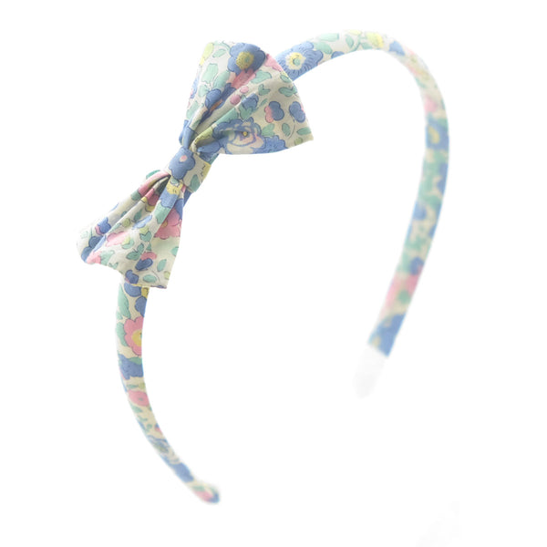 Betsy Midi Blue Liberty Hairband