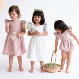 Hana Blush Bellissima Linen Dress