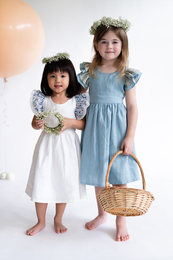 Hana Milk Betsy Linen Dress [Pre-Order]