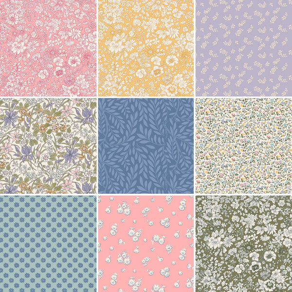 A Liberty Quilting Complete Collection - The English Garden 23 Fat Quarters Bundle