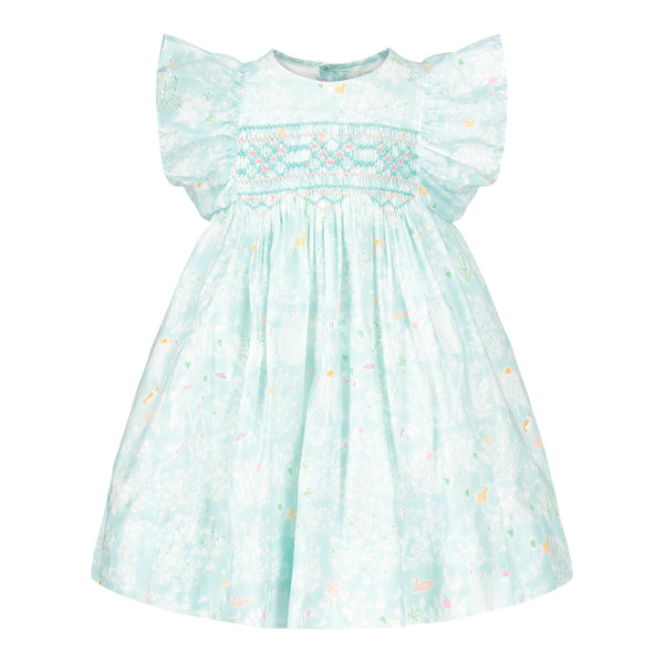 Leonor Enchanted Forest Heirloom Smocked Dress