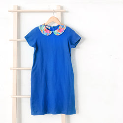 Madeline Blue Tulip Dress