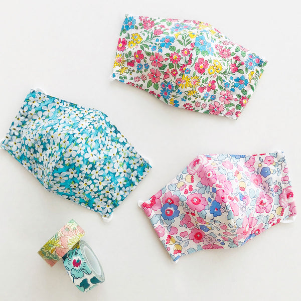 Tween Liberty Print Face Mask With Filter Insert Compartment [ 2 Ply ] 4-7-20