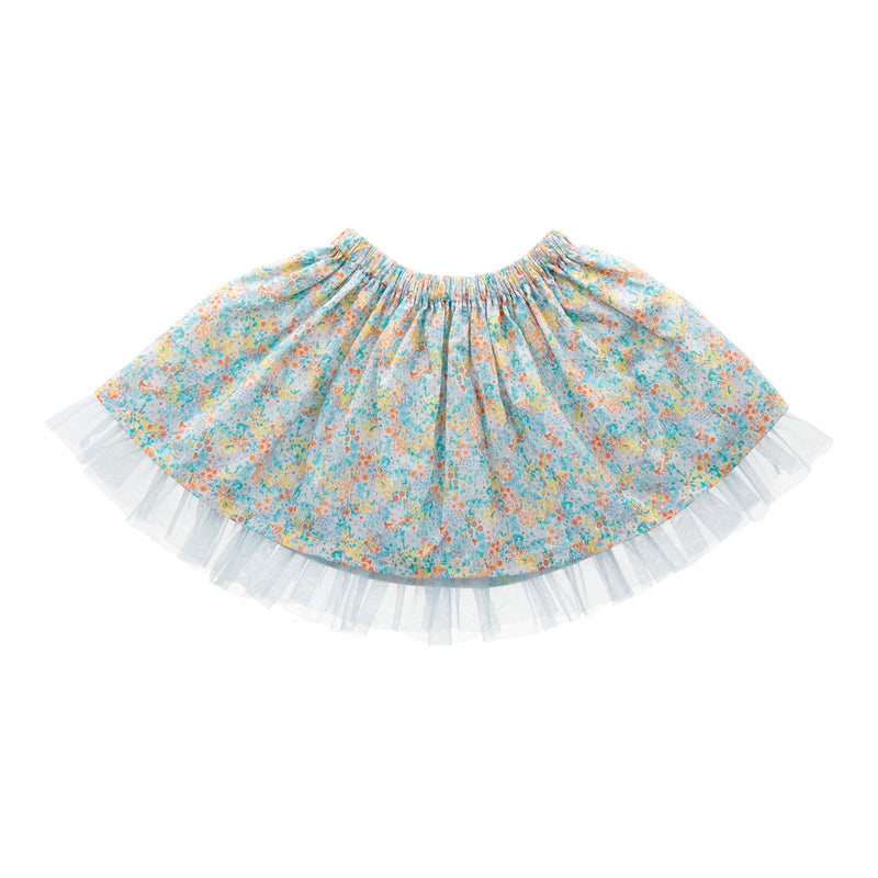 Mie Mint Poppy Tutu Skirt