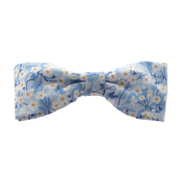 Sakura Blue Miki Bow Hairclip