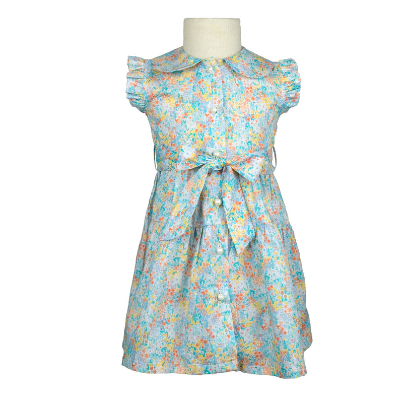 Mini Alice Mint Poppy Dress