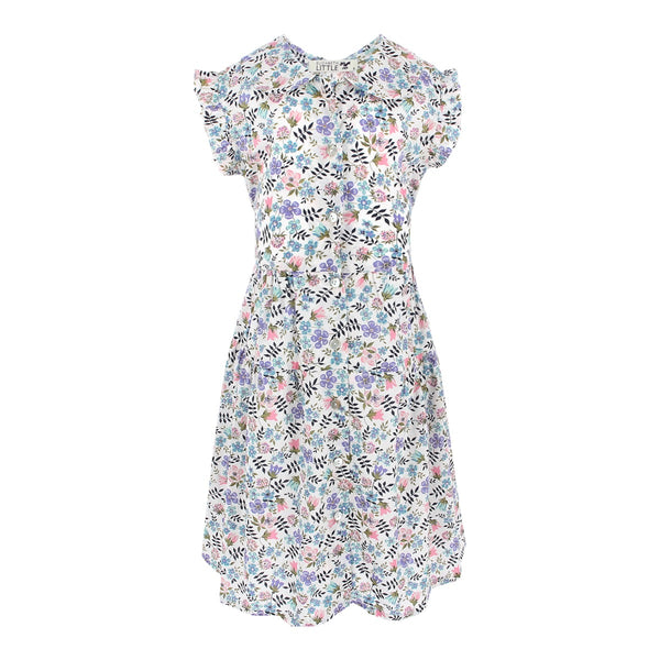 Mini Alice Geranium Dress