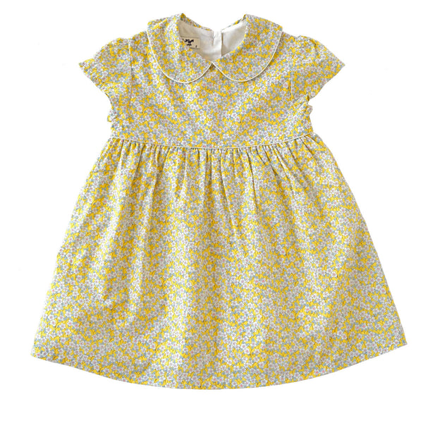 Naomi Daisy Lemon Dress - Online Exclusive