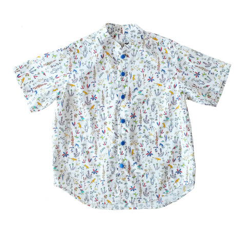 Nobu Golden Afternoon Mandarin Shirt