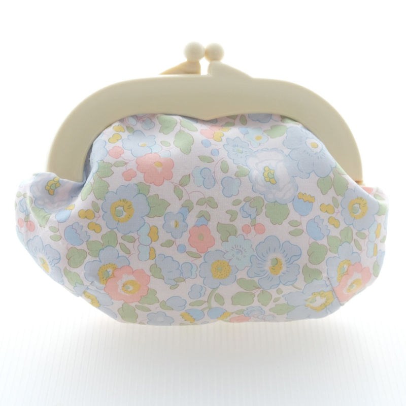 Madeline Betsy Baby Blue Pouch - Medium Ivory Clasp