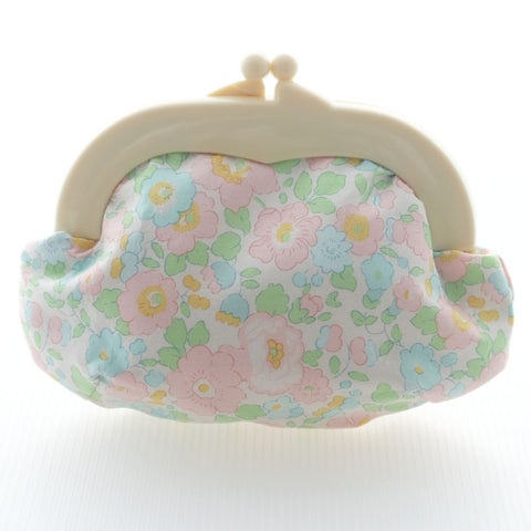 Madeline Betsy Pink Pouch - Medium Ivory Clasp