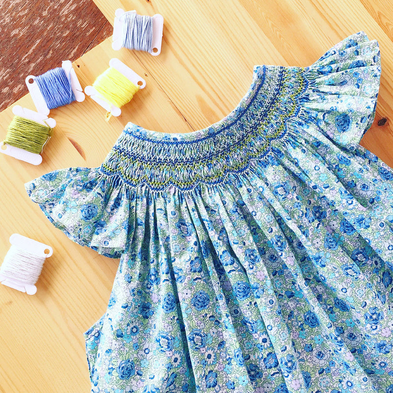 Beatrice Heirloom Hand Smocked Dress - Preorder
