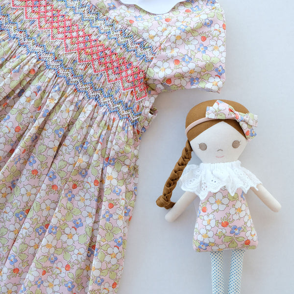 Sophia Sugar Blossom Heirloom Smocked Dress