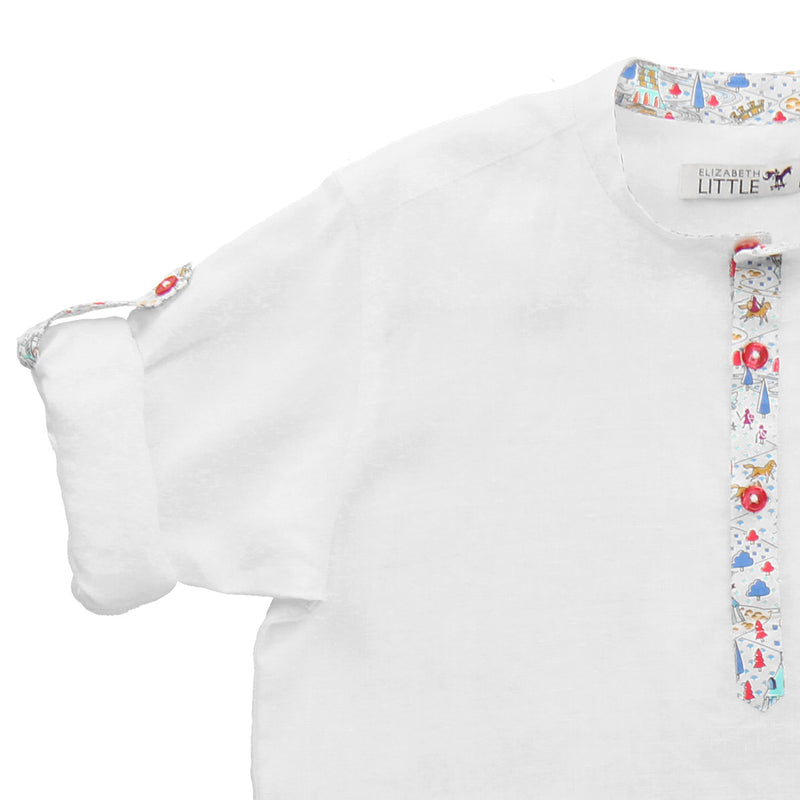 Starr Milk Knights Linen Shirt