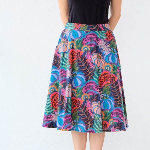 Yoko Skirt - Monstera Rainbow - One Piece