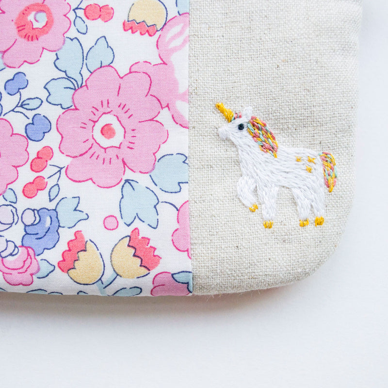 Betsy Hope Unicorn Zip Pouch - Pre-Order
