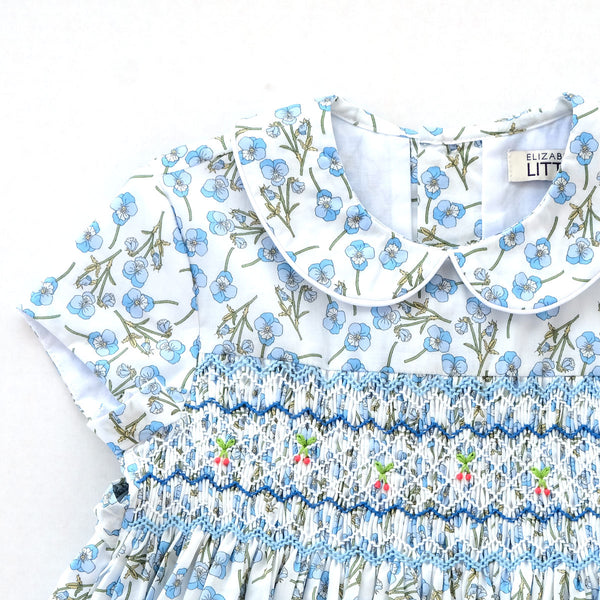 Charlotte Lila Heirloom Smocked Dress