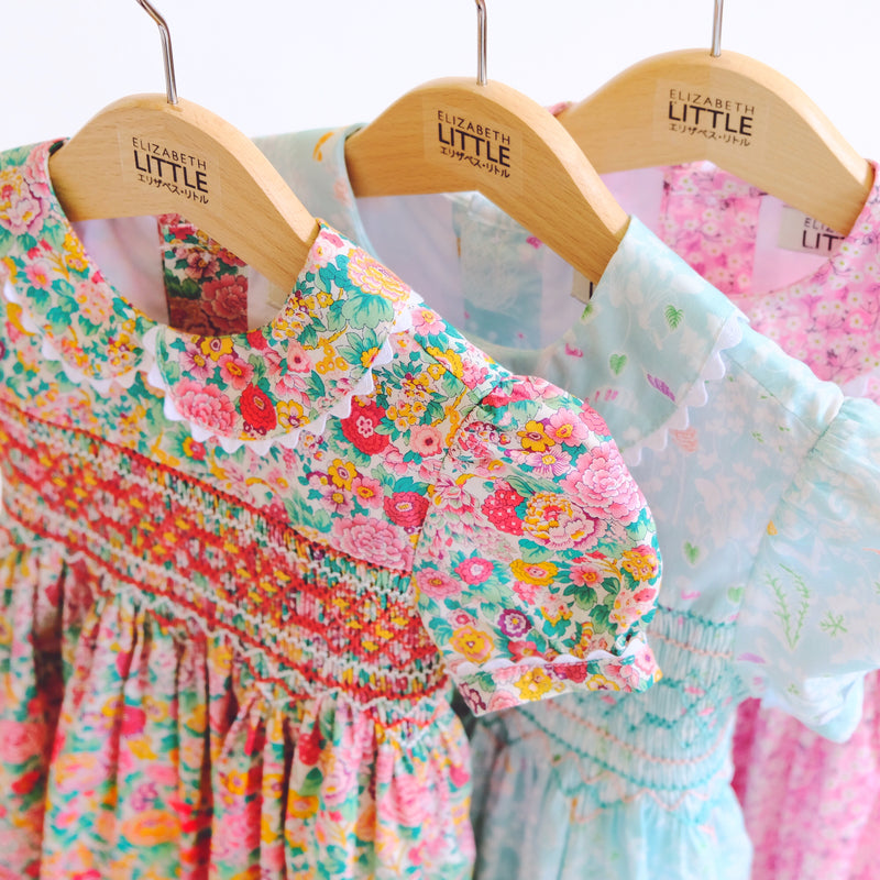 Charlotte Elise Rose Heirloom Smocked Dress