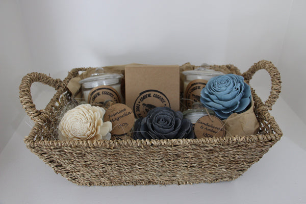 Scented Candle Gift Hampers Hand Poured Australian Made Coastal Essence