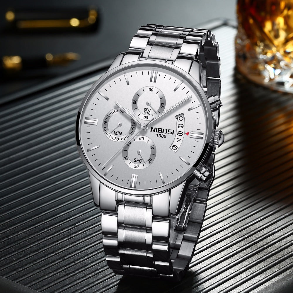 """Classic Smart Man"" Quartz Luxury Sports Watch"