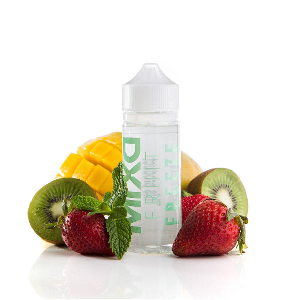 Fruit Freeze | Mixd E-Liquids | Strawberry Kiwi Mango Menthol Vape Juice