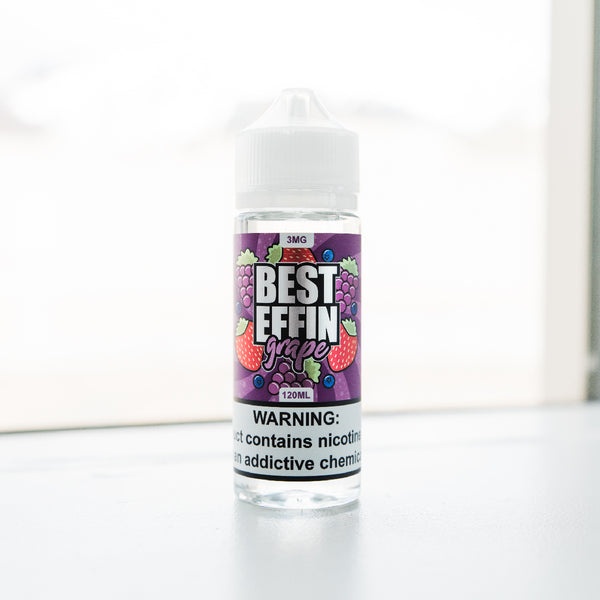 Best Effin Grape by Mixdlabs | Formally known as Smurf Spit E Juice | Best grape ejuice