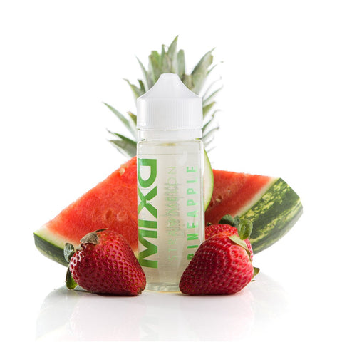 Strawmelon Pineapple E-Liquid | Mixd E-Liquids | Strawberry Watermelon Pineapple vape juice