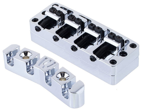 Warwick 2 Piece bass Bridge for 4 string