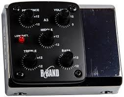 B-Band A3 Acoustic side mount Preamp