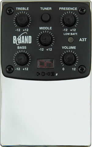 B-Band A3T Preamp And UST 22R Pickup Bundle