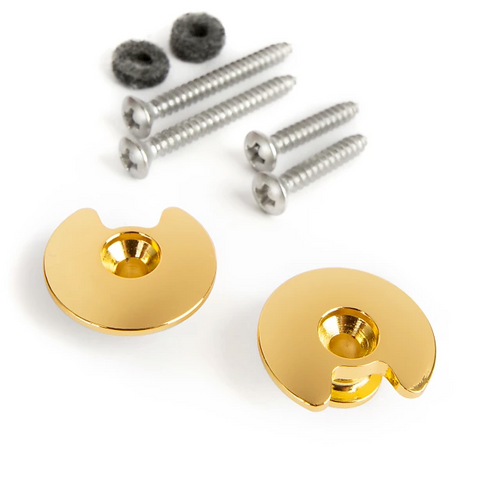 DIAGO Twistlock Strap Button CNC Gold