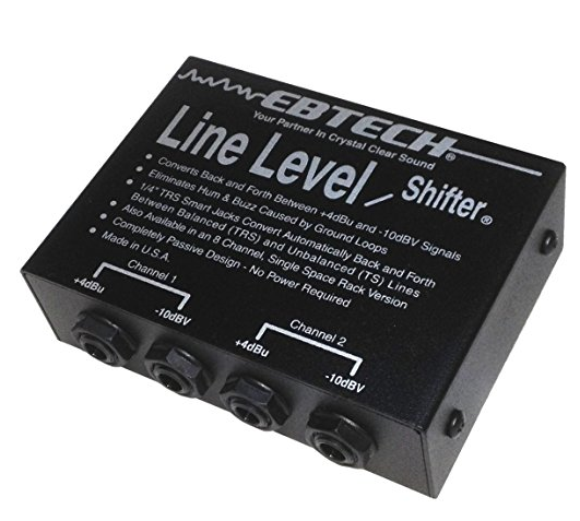 Ebtech 2 Channel Line Level Shifter