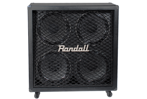 Randall Diavlo 4x12 Angled BAFFLE Straight Cab Celestion V30 Equipped.