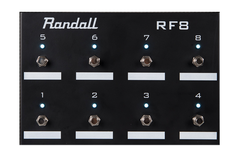 Randall 8 Button Universal Midi Footswitch
