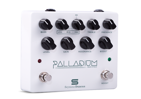 Palladium Gain Stage Pedal White