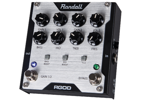 Randall 2 Channel FET Preamp Pedal RGOD