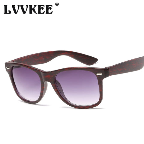 Fashion Imitated Wood Wooden Bamboo Sunglasses Men Women Vintage Classic Rivet Sun Glasses UV400 Oculos