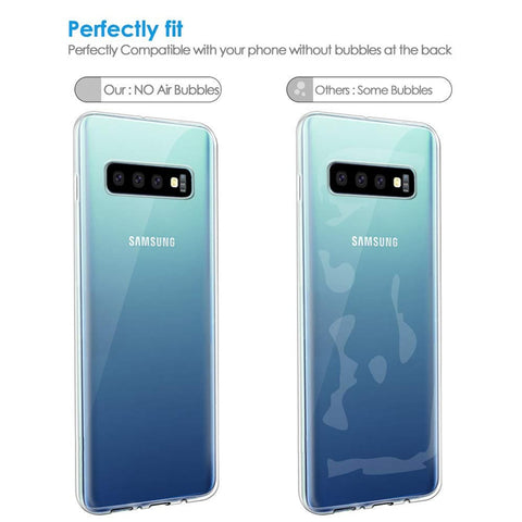 Clear Silicon Soft TPU Case For Samsung Galaxy S10 S9 S8 Plus S10e Capinhas Transparent Cover Case For Samsung S7 Edge A20 Coque