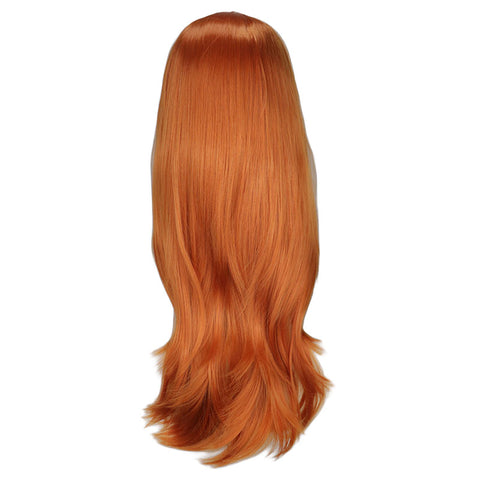 Long Curly Cosplay Costume Blonde Wig For Women High Temperature Synthetic Hair Wigs