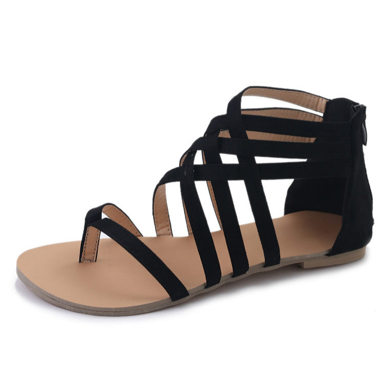 Women Sandals Plus Size Gladiator Sandals For Women Summer Shoes Flat Sandals Flip Flops Beach Shoes Women