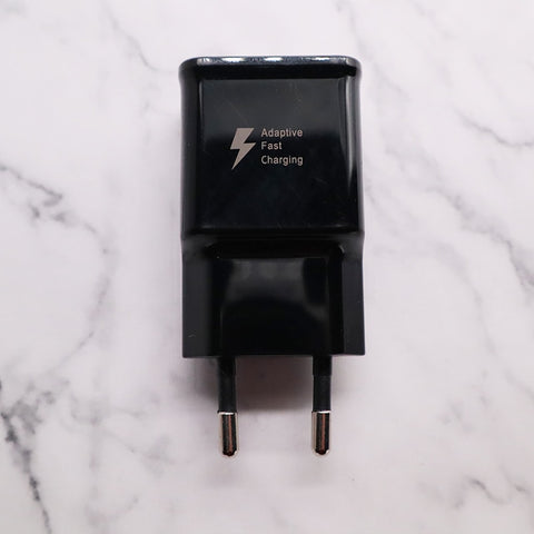 Samsung S10 8S S9 Plus Fast USB Power Adapter 9V 1.67A Quick Charge for Samsung Galaxy  A51 A70 A50 note 8 9 Type C Cable