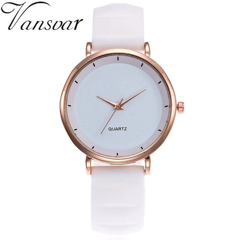Fashion Jelly Silicone Women Watches Luxury Brand Casual Ladies Quartz Clock Wristwatches Clock Relogio