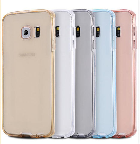 Silicone Case For Samsung Galaxy S9 S8 A8 Plus 2018 S5 S6 S7 Edge A3 A5 A7 2015 2016 J3 J5 Pro J7 Neo 2017 Soft Full Cover