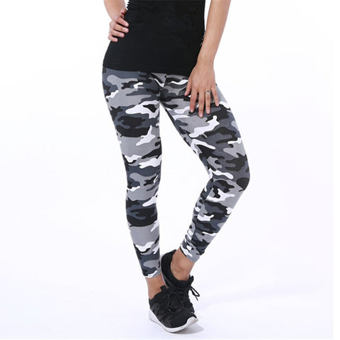 Women Leggings High Elastic Skinny Camouflage Legging Spring Autumn Leggins Slimming Women Leisure Pant