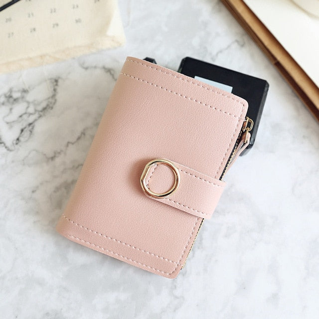 Women Wallets Small Fashion Brand Leather Purse Women Ladies Card Bag For Women Clutch Purse Money Clip Wallet