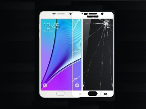2.5D 9H Full Cover Tempered Glass for Samsung Galaxy A3/5/7/9 2016/7 S3/4/5/6/7 Full Coverage Screen Protector Toughened Glass