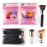 20pcs Makeup Brush Set Water Drop Blender Puff Sponge Makeup Tools Kit Foundation S-shape Blush Powder Brush 6 in 1 Beauty Tools - Style Lavish