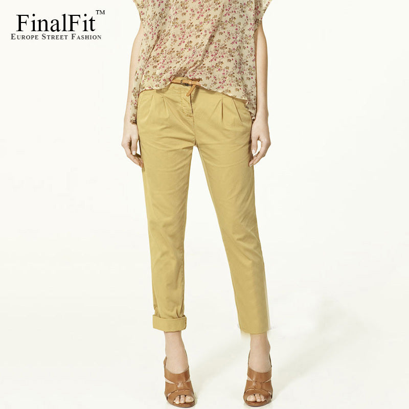 Spring Summer Autumn Fashion Women Harem Pencil Pants
