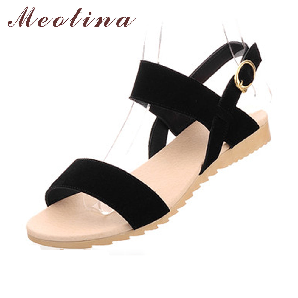 Women Fashion Comfort Shoes Low Heels  Shoes Sandals Beach Wedge Sandals Mixed Color